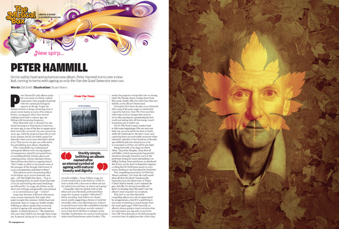 Peter Hammill: From The Trees